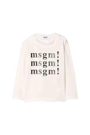 T-shirt bianca MSGM kids MSGM KIDS | 7 | 020985002