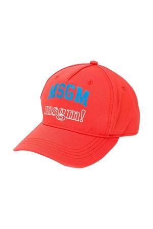 Red MSGM kids hat  MSGM KIDS | 25189572 | 021000040