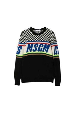 Black MSGM Kids sweater MSGM KIDS | 1169408113 | 021375200