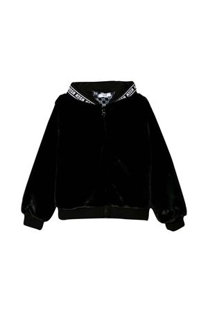 BLACK JACKET MSGM KIDS  MSGM KIDS | 13 | 021642110