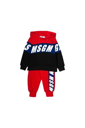 MSGM Kids red baby set MSGM KIDS | -108764232 | 021828040