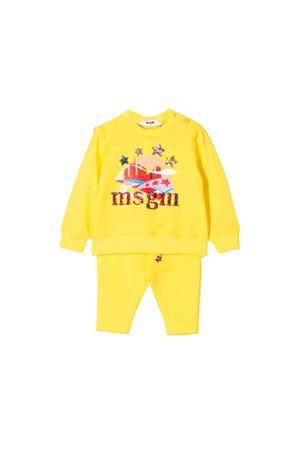 Completo neonata giallo MSGM Kids MSGM KIDS | -108764232 | 021833020