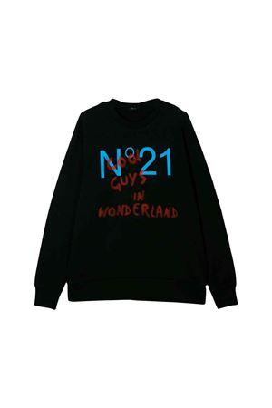 Black sweatshirt N ° 21 kids N°21 KIDS | -108764232 | N21436N00330N900