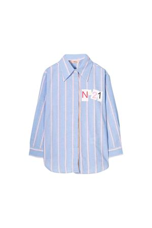 Blue shirt N ° 21 kids teen  N°21 KIDS | 6 | N21457N00170N803T