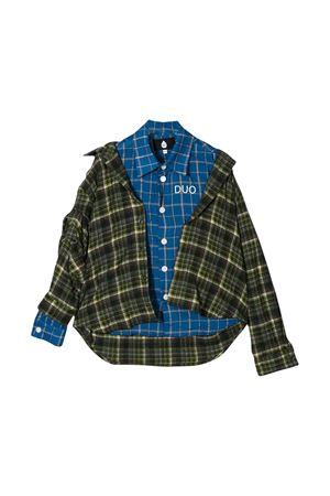 Blue and green teen  shirt Natasha Zinko NATASHA ZINKO KIDS   6   DUO20502/04T