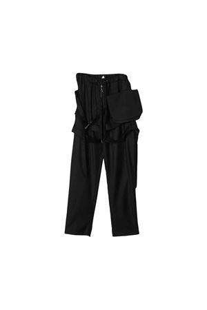 Black cargo trousers Natasha Zinko kids NATASHA ZINKO KIDS | 9 | DUO30501
