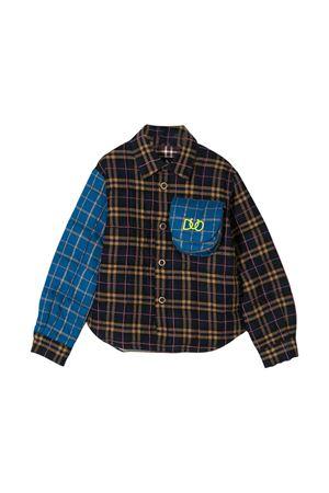 Blue and brown teen shirt Natasha Zinko kids NATASHA ZINKO KIDS   6   DUO40102/15T