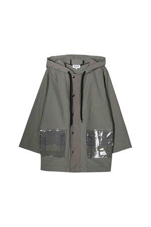Long grey lightweight jacket Natasha Zinko kids NATASHA ZINKO KIDS | 13 | DUO40405