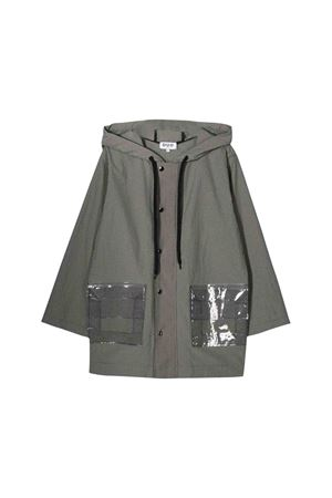 Long teen grey lightweight jacket Natasha Zinko kids NATASHA ZINKO KIDS | 13 | DUO40405T