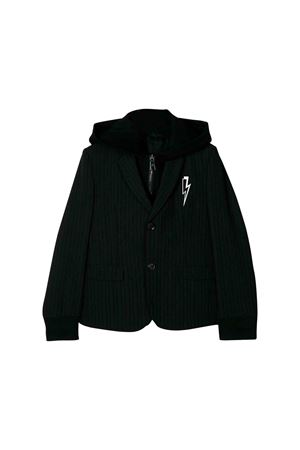 Black jacket Neil Barrett kids teen NEIL BARRETT KIDS | 3 | 020591110T