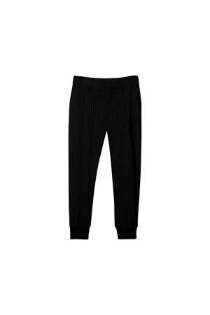 Black striped trousers Neil Barrett kids teen  NEIL BARRETT KIDS | 9 | 020592110T