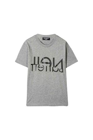 Gray Neil Barrett kids teen t-shirt  NEIL BARRETT KIDS | 8 | 020594101T
