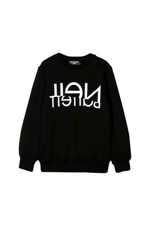 Black Neil Barrett kids teen sweatshirt  NEIL BARRETT KIDS | 7 | 020600110T