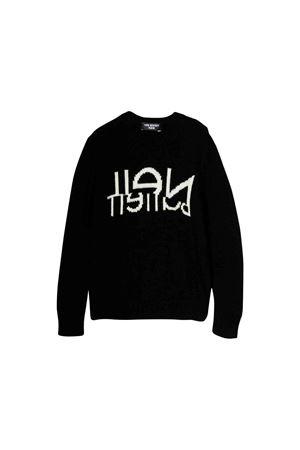Neil Barrett kids black sweater  NEIL BARRETT KIDS | 7 | 020603110