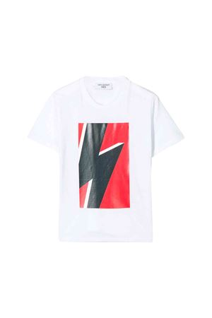 White Neil Barrett kids teen t-shirt  NEIL BARRETT KIDS | 8 | 020606001T