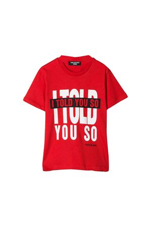 T-shirt rossa Neil Barrett kids teen NEIL BARRETT KIDS | 8 | 020626040T