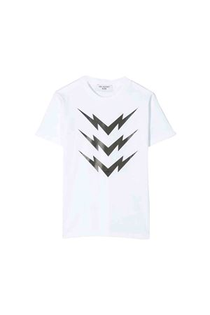 Neil Barrett kids white T-shirt  NEIL BARRETT KIDS | 8 | 020633001