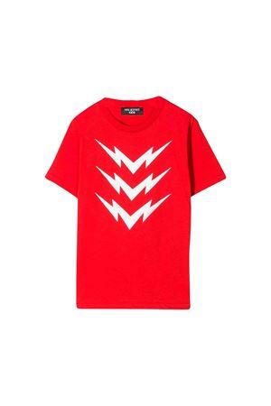 Red Neil Barrett kids t-shirt  NEIL BARRETT KIDS | 8 | 020633040
