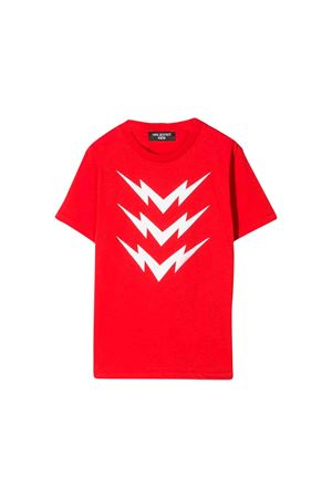 Red Neil Barrett kids teen t-shirt  NEIL BARRETT KIDS | 8 | 020633040T