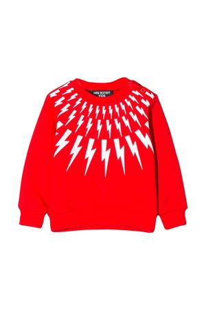 Neil Barrett kids red sweater NEIL BARRETT KIDS | 7 | 020654040