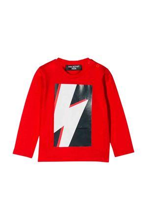 Red Neil Barrett kids t-shirt  NEIL BARRETT KIDS | 5032319 | 020656040