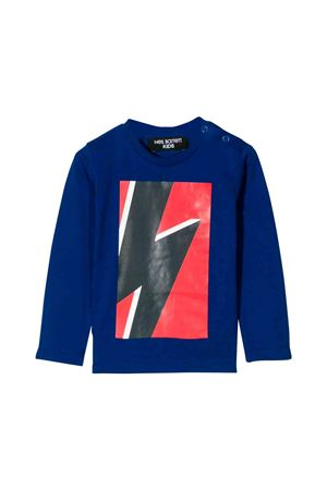 Neil Barrett kids royal blue T-shirt  NEIL BARRETT KIDS | 7 | 020656130