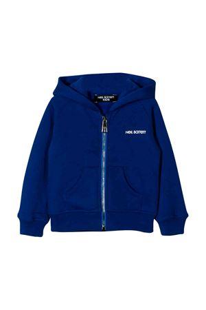 Neil Barrett kids royal blue sweatshirt  NEIL BARRETT KIDS | -108764232 | 021449130