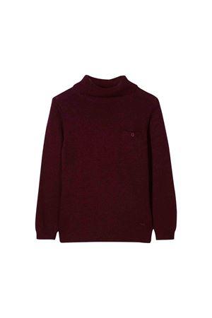 Burgundy sweater Paolo Pecora kids  Paolo Pecora kids | 7 | PP1937BORDEAU