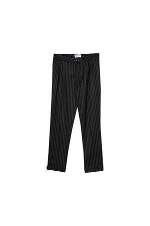 Paolo Pecora kids blue pinstripe trousers  Paolo Pecora kids | 9 | PP1976BLU