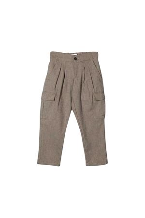 Brown trousers Paolo Pecora kids Paolo Pecora kids | 9 | PP1989MILITARE