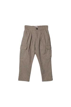 Pantaloni marrone Paolo Pecora kids Paolo Pecora kids | 9 | PP1989MILITARE