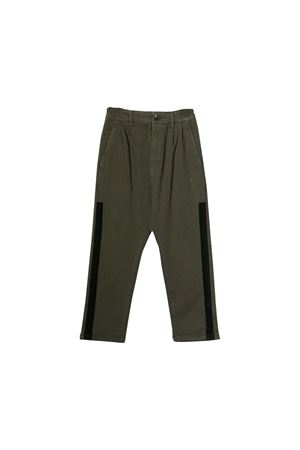 Green military trousers Paolo Pecora kids  Paolo Pecora kids | 9 | PP1993MILITARE