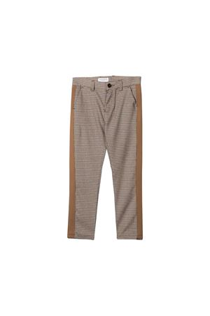 Paolo Pecora kids teen checkered trousers  Paolo Pecora kids | 9 | PP1999BISCOTTOT