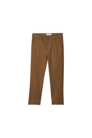 Brown biscuit trousers Paolo Pecora kids  Paolo Pecora kids | 9 | PP2018BISCOTTO