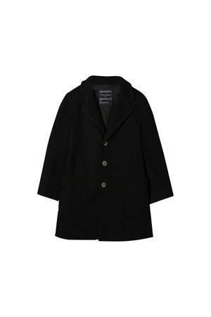 Black coat Paolo Pecora kids  Paolo Pecora kids | 17 | PP2026NERO