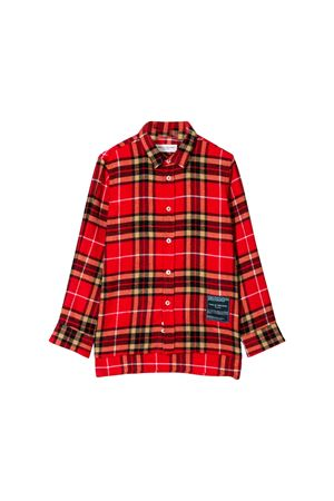 Paolo Pecora kids red long shirt  Paolo Pecora kids | 6 | PP2063ROSSO