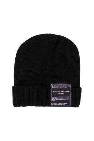 Black hat Paolo Pecora kids  Paolo Pecora kids | 75988881 | PP2077NERO