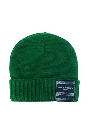 Green hat Paolo Pecora kids  Paolo Pecora kids | 75988881 | PP2077VERDE