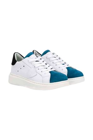 White Philippe Model kids teen sneakers  PHILIPPE MODEL KIDS | 12 | BAL0X02T