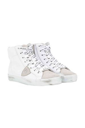 Philippe Model kids white high-top sneakers  PHILIPPE MODEL KIDS | 12 | CLH0VM3