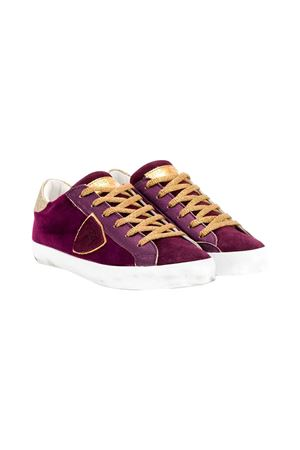 Philippe Model kids velvet sneakers teen  PHILIPPE MODEL KIDS | 12 | CLL0EV4T