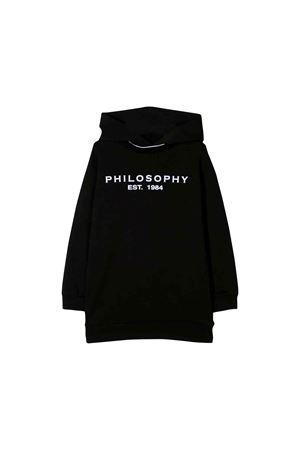 Abito felpa nero Philosophy kids PHILOSOPHY KIDS | 11 | PJAB55FE147UH0020016