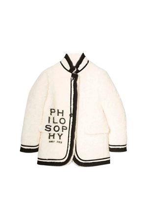 Philosophy kids white coat  PHILOSOPHY KIDS | 17 | PJGB11ML220UH0160009