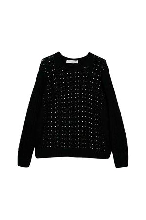 Black Philosophy kids girl sweater  PHILOSOPHY KIDS | 7 | PJMA06FL98UH0310124