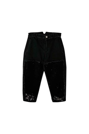 Black girl trousers Philosophy kids  PHILOSOPHY KIDS | 9 | PJPA17CE50UHUNI0500