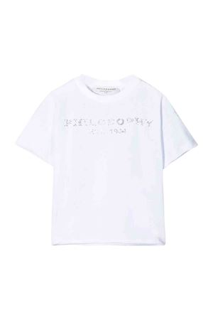 Philosophy kids white t-shirt  PHILOSOPHY KIDS | 8 | PJTS13JE95BUH0010001