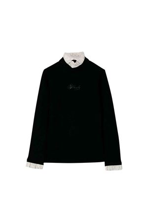 Black Philosophy kids girl sweater  PHILOSOPHY KIDS | 8 | PJTS15JE08UH0260096