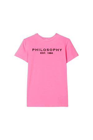 Pink Philosophy kids t-shirt  PHILOSOPHY KIDS | 8 | PJTS24JE95BUH0020013