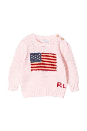 Maglione rosa neonata Ralph Lauren kids RALPH LAUREN KIDS | 7 | 310668609003