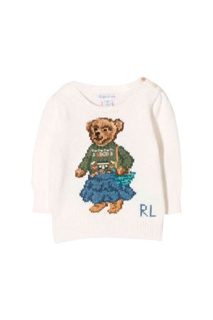 Newborn cream sweater Ralph Lauren kids  RALPH LAUREN KIDS | 7 | 310751059001